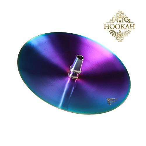 Edelstahl Kohleteller von THE HOOKAH ? RAINBOW ?ca. 24cm Edelstahl V2A ?Shisha ? Wasserpfeife