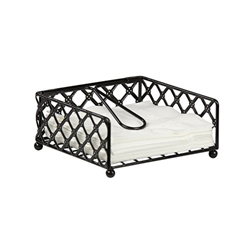 Home Basics Lattice Flat Napkin Holder