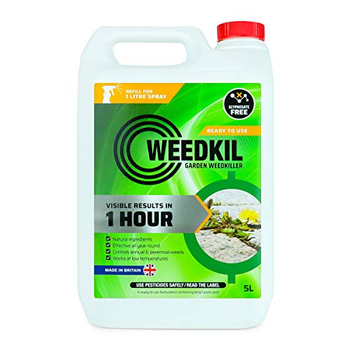 WeedKil Mata malas hierbas apto para mascotas, 5 L, apto par