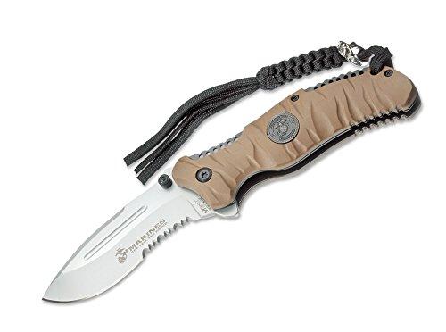 USMC Herren Messer US Marines Reaper Desert 9 cm, khaki, One size