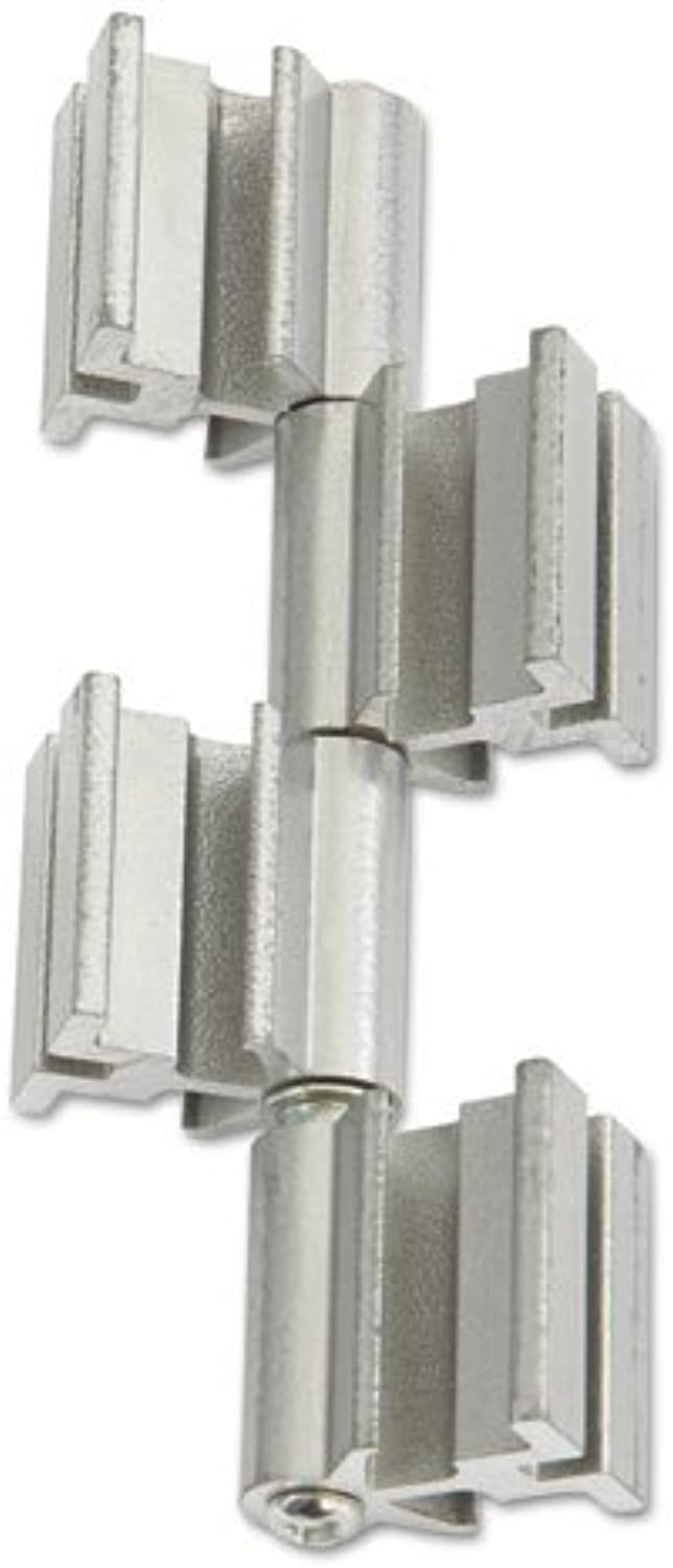 - RumbaTM Whiteboard Screen Accessories, Ganging Connector Set, Silver