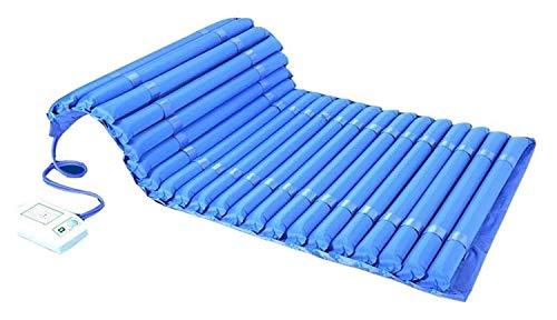 Möbeldekoration Expansionskontroll-Matratzenauflage mit Pumpenluftmatratze Einzelne Anti-Dekubitus-Luftmatratze Air Topper-Auflage für Bettschmerzen Luftdruckmatratze - Aufblasbare Bettauflage hilf
