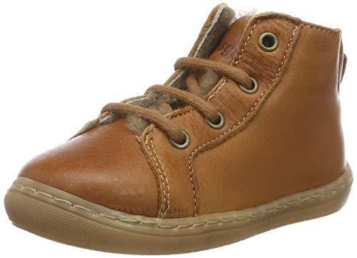 Bisgaard Unisex Baby Vibs Sneaker, Braun (Cognac 500), 23 EU
