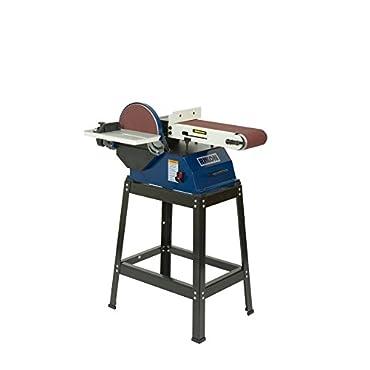 Rikon 50-122 Adjustable Disc Sander 6 x 48 Belt, 10 Inch Disc with Stand