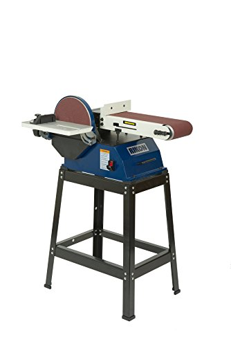 "RIKON Professional Power Tools 6"" x 48"" Belt with 10"" Disc Sander, 50-122"