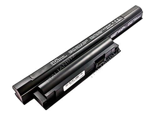 ITALIANBIZ Batteria 4400mAh Compatibile con Sony VAIO VPCEH2J1E/L VPCEH2J1E/W VPCEH2N1E/B VPCEH2N1E/L VPCEH2N1E/W VPCEH2Q1E/B