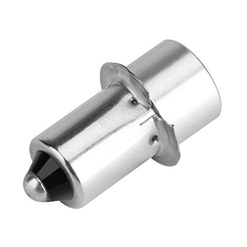 Jeffergarden Bombilla LED de Alta Potencia P13.5S 3W Linterna LED Bombilla de Repuesto Parte Lámpara de la antorcha Luz de Trabajo de Emergencia Kit de conversión de LED(Blanco 12V)