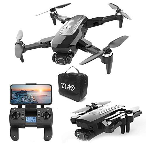QIXIAOCYB Con Luminoso GUIDATO Drone Leggero GPS RC. Quadcopter 25 Minuti di Durata della Batteria con 108 0P HD. WiFi FPV. Supporto VR. modalità modalità Senza Testa Posizionamento del Flusso Ottico