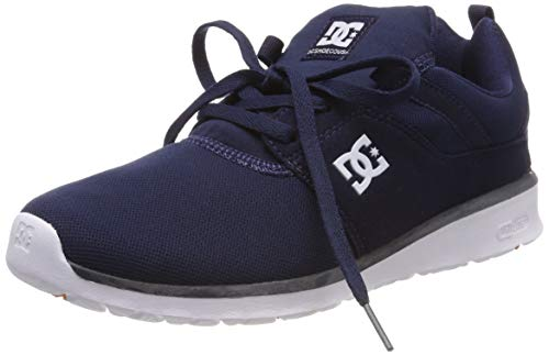 DC Shoes Heathrow, Herren Low-Top Sneakers, Blau (Navy-Nvy), 38 EU