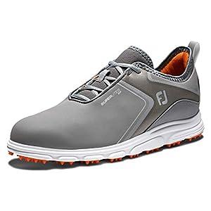 FootJoy Men's Superlites XP Previous Season Style Golf Shoes, Grey/Black, 10 M US