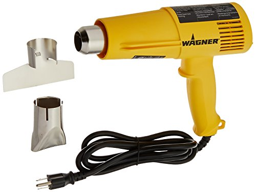 Wagner 0503040 HT3500 Digital Heat Gun, 12 Temp Settings 250ᵒF-1350ᵒF, soften paint, caulking, adhesive, putty for removal, shrink wrap, bend plastic pipes, and loosen rusted nuts or bolts