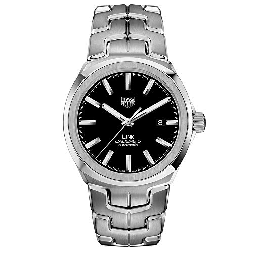 Tag Heuer Link Automatic Black Dial Mens Watch WBC2110.BA0603