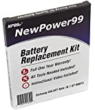 Battery Kit for Samsung Galaxy Note 10.1 GT-N8013 with Video Instructions, Tools, and Extended Life Battery from NewPower99