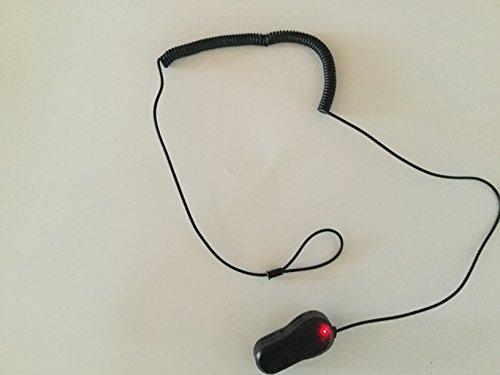 Elektronische Leinensicherung mit 1 Klebekontakt und Schlaufe