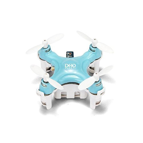 JJRC DHD D1 Drone Smallest Headless Mode 2.4G 4CH 6Axis RC Quadcopter RTF Blue