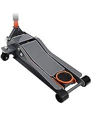WEIMALL ガレージジャッキ 低床 フロアジャッキ 3t 3トン シンプルタイプ ジャッキ ローダンウンジャッキ 油圧ジャッキ 低床ジャッキ デュアルポンプ式 ローダウン車対応 ジャッキアップ