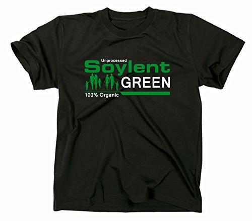 Soylent Green T-Shirt, Jahr 2022 die überleben wollen, XL, schwarz