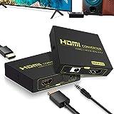 hdmi 音声分離 光デジタル Ippinkan hdmi音声分離器 4K@60HZ 光デジタルToslink SPDIF 3.5mm L/R音声出力 HDMI2.0 HDCP2.3 3D/HDR映像対応hdmi 音声分離機 HDMIサウンド分離器 PS3 PS4 Xbox Blu-ray Player Fire TVなど対応 PASS/DTS/Dolby/LPCM対応 永久保証
