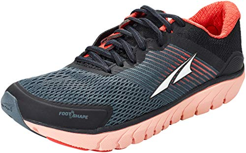 ALTRA Women's AL0A4QTQ Provision 4 Road Running Shoe, Black/Coral/Pink - 8 M US