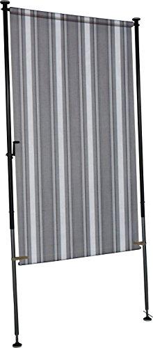 Angerer Balkon Sichtschutz Nr. 2800 grau, 150 cm breit, 2317/2800