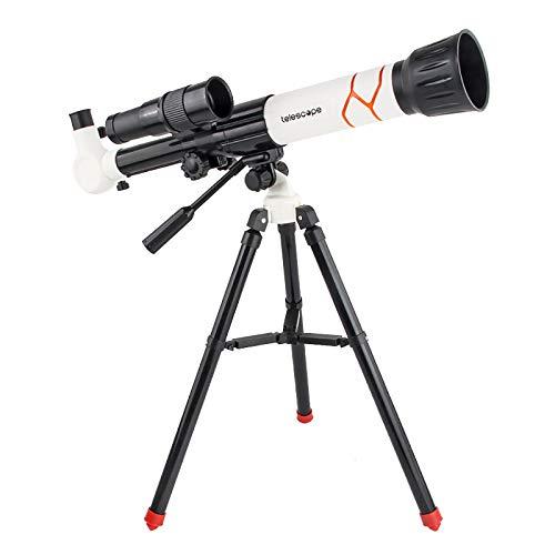 Telescope Telescopes For Adults Kids Celestron Astronomy Beginners 8-12 Monocular Binoculars, & Optics Starscope Professional 5-7 White