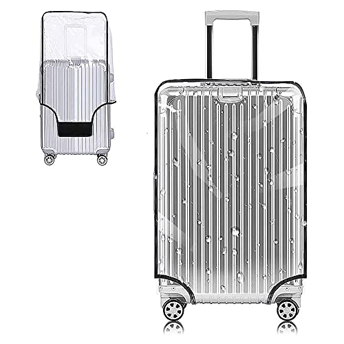 Yotako 30 Inch Suitcase Cover Protectors Clear PVC Luggage Cover Waterproof...
