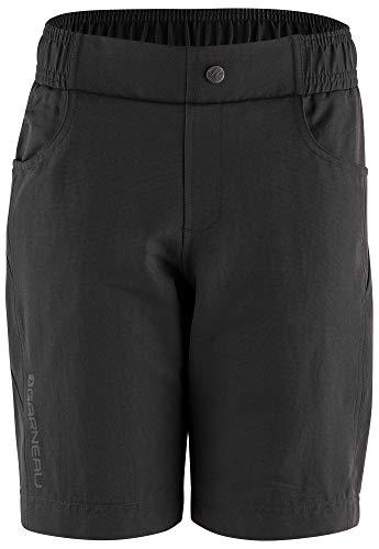 Louis Garneau, Kids Range 2 MTB Bike Shorts, Black, Junior X-Large