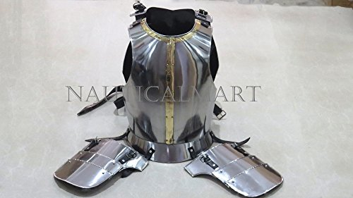NauticalMart Breastplate Medieval Knight's Body Armor Fluted Cuirass