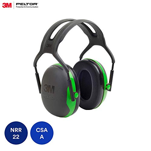 3M Peltor X-Series Over-the-Head Earmuffs