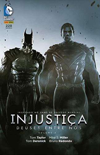 Injustiça Deuses entre nós volume 2 [Print Magazine] Tom Taylor; Tom Derenick and Panini