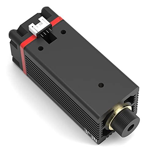 450NM professionelles kontinuierliches 2,5W Laserschneiden/Graviermodul blaues Licht mit TTL/PWM-Modulation für Laserschneidemaschine, Lasergraviermaschine, CNC, DIY-Laser