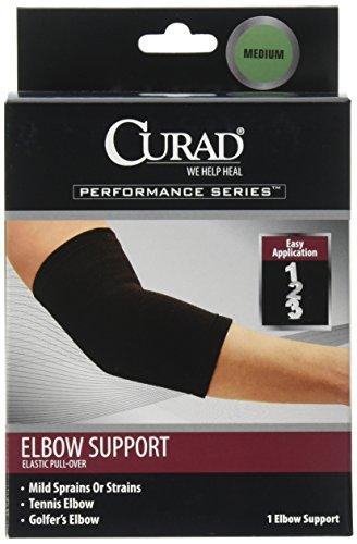 Curad Elastic Pull-Over Elbow Support, Medium