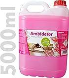 IQG Fregasuelos AMBIDETER Limpiador de Suelos perfumado (terrazo, mármol, cerámica, parket, etc.) (5 L)