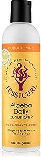 Jessicurl Aloeba Daily Conditioner, Citrus Lavander, 8.0 Fluid Ounce