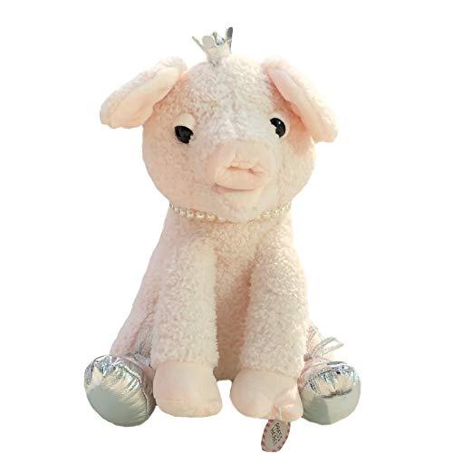 not Cartoon Electronic Sing Piggy Plüsch Kuscheltier, Electric Sleepy Schnarchen Pig Plüschtier Für Kinder, 28Cm (Pink)