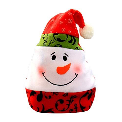 Dasongff Kerstmuts, Kerstmuts, knuffelzacht en aangenaam voor de winter Kerstmis 1 PC B