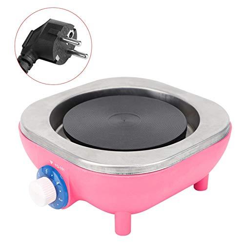 Hoseten Elektroherd, 500 W Haushaltsherd mit hoher Oberflächentemperatur, hoher thermischer Wirkungsgrad Schnelle Erwärmung Praktisch für Jungen(Pink)