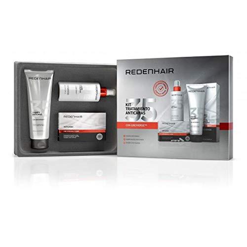 REDENHAIR   Kit Tratamiento Anticanas Completo Profesional   Champú, Loción y comprimidos para el cabello Anticanas   Tratamiento Anticanas Cabello   Anticanas Cabello Mujer y Hombre