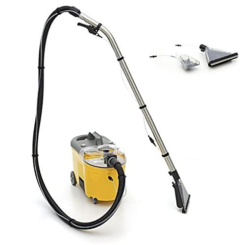 Lorito Profi Sprühextraktionsgerät Teppichreinigungsmaschine Waschsauger Teppichreinigungsgerät für die Teppichreinigung