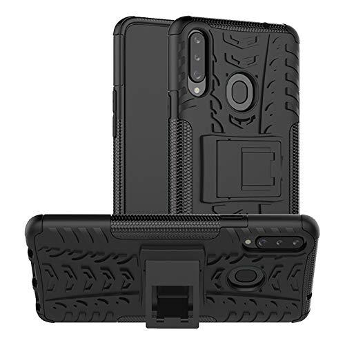 betterfon | Handyhülle Samsung Galaxy A20S Hülle Handy Tasche Outdoor Schutzhülle Silikonhülle für Samsung Galaxy A20S SM-A207FN Schwarz