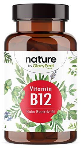 Vitamin B12 200 vegane Tabletten (13 Monate) - Beide Bioaktive B12-Formen + Depotform Hydroxocobalamin + Folsäure 5-MTHF - 500µg reines B12 pro Tagesdosis - Laborgeprüft in Deutschland hergestellt
