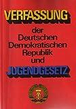 Verfassung der DDR Jugendgesetz Lehrbuch DDR