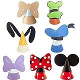 YUESEN Cappelli Festa Kit di attività 14PCS Party Cappelli Compleanno Mickey Mouse Cappellini Party Cappellini per Feste Compleanno Bambini Topper Compleanno Accessorio Decorazione Festa