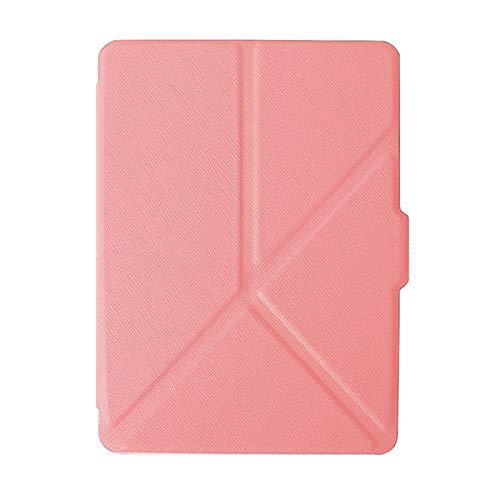 DRTWE Hülle Für Kindle,Origami Case Fit Kindle Voyage Kindle1499 Rosa Ultra Slim...