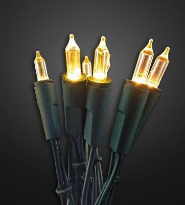 Mini-Lichterkette Hellum 577679 Warm-Weiß