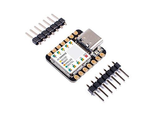 Seeeduino XIAO Der kleinste Arduino-Mikrocontroller basiert auf SAMD21, mit reichhaltigen Schnittstellen, 100% Arduino IDE-kompatibel, entworfen für Projekte mit Arduino Micro, 1 Stück.