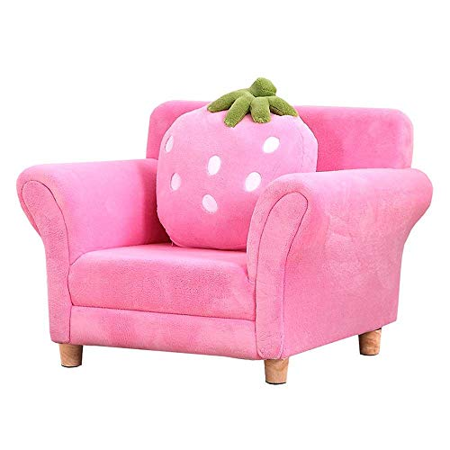 N/Z Living Equipment Furniture Zeitgenössisches Kindersessel-Sofa Gepolstertes Wohnzimmermöbel-Sofa (Farbe: Pink Größe: 48x55x67cm)