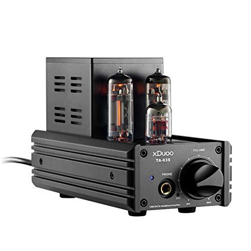 XDUOO TA-03S USB PCM32bit/192KHZ CS43982 DSD128 DAC XMOS U8 AUX Input Tube Headphone Amplifier