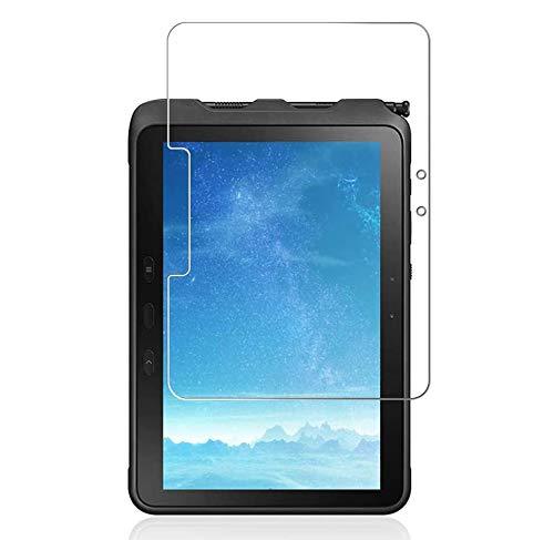 J&D Compatible para Samsung Galaxy Tab Active Pro Protector de Pantalla, 1-Pack [Vidrio Templado] [NO Cobertura Completa] Cristal Templado Protector de Pantalla para Galaxy Tab Active Pro