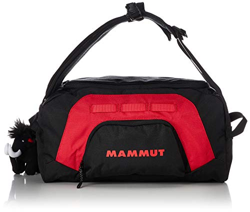 Mammut Unisex Adults' First Cargo Hiking Duffle, Black/Inferno, Large